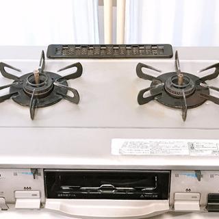 ⑥パロマ LPガス用 ガスコンロ ガステーブル IC-800F-...