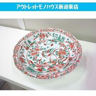 たち吉 赤絵花鳥 大皿 31.7cm 橘吉 和食器 和皿 …