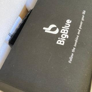 【ネット決済・配送可】【太陽光パネル】BigBlue ソーラーパ...