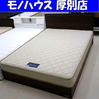 FRANCE BED ダブルベッド 幅143.5×奥行198.5...