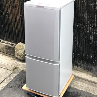 三菱電機 2ドア冷蔵庫 MR-P15A-S