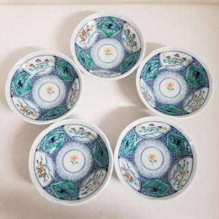有田焼嘉山窯 小鉢5枚セットの画像