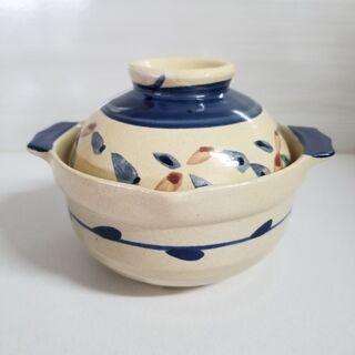 一人用土鍋。新品