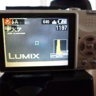 美品!パナソニック デジタルカメラ DMC-FX7S 箱説明書付き - 香芝市