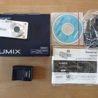 美品!パナソニック デジタルカメラ DMC-FX7S 箱説明書付き - 家電