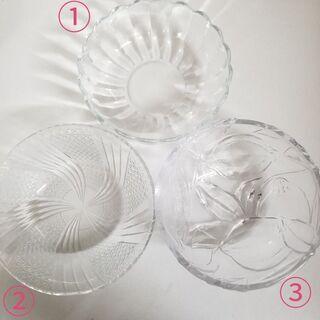 ガラスの器 3種セット