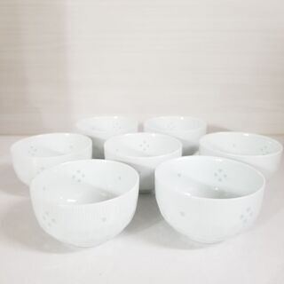 有田焼ホタル 湯呑茶碗 7個セット
