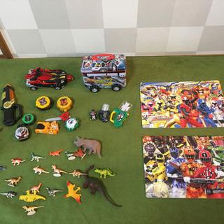 男の子向け パズル 恐竜 ヒーロー おもちゃ