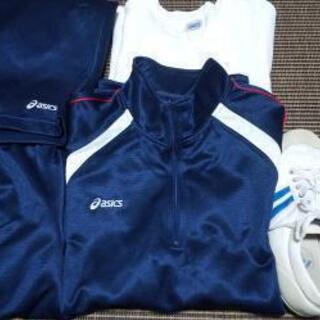 津田中学校  体操服シューズ制服5点セット男の子ジャージ