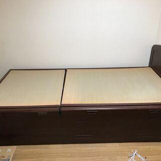 畳ベッド 丸八製 証明書ありの画像