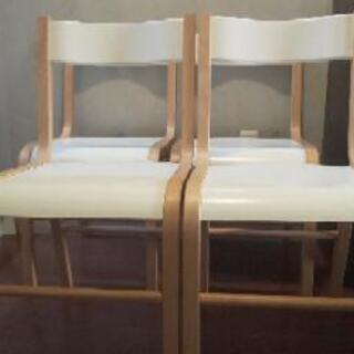 【手渡し限定】IKEA ダイニングチェア 4脚セット - 新鎌ヶ谷