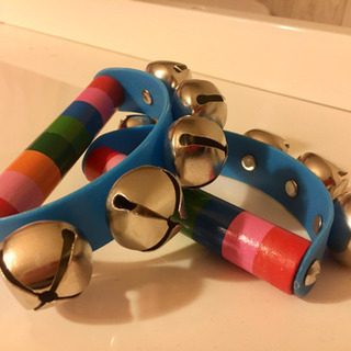 木のおもちゃ ♡ 楽器 ♡ すず ♡ 鈴 2つセット