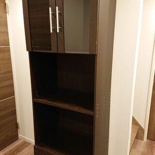 ゼロ円 キッチン収納棚 レンジ収納棚