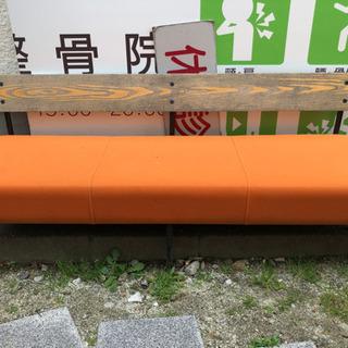 オレンジベンチ×2 - 家具