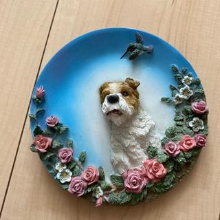 犬の飾り物 壁掛け