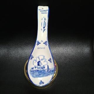 DELFT陶器のスプーンかレンゲ