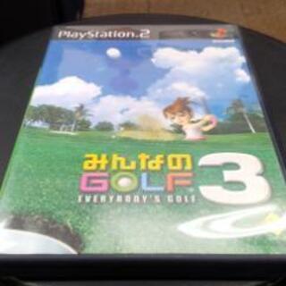ソニーコンピュータエンタテインメント・PS2ソフト みんなのゴル...