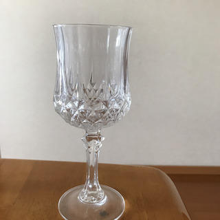 クリスタル ワイングラス  6脚