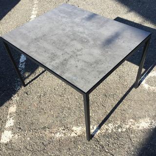 IKEA オシャレなコンクリート風 コーヒーテーブル 使用…