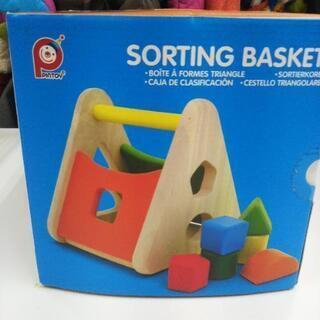 ピントーイ パズルバスケット PINTOY パズルボックス 知育玩具