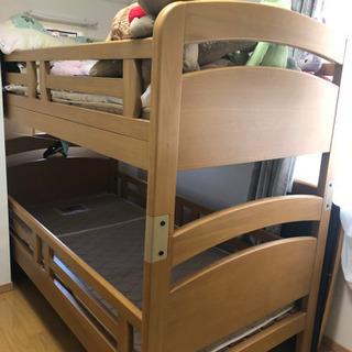 【業者による搬出希望】無料!子供用 二段ベッド