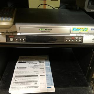 パナソニック ビデオデッキ VHS ジャンク 引取限定