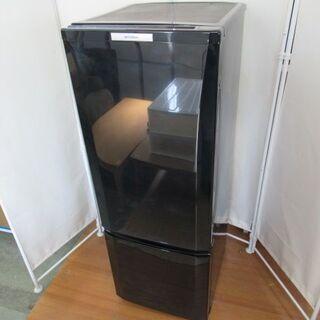 JAKN2038/冷蔵庫/2ドア/右開き/ブラック/三菱/MIT...