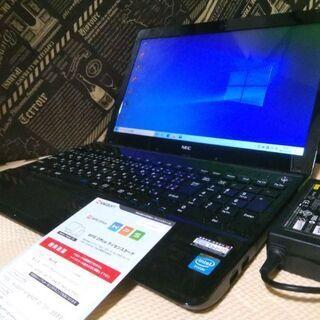 美品NEC☆爆速SSD120GB 最新Windows10 Off...
