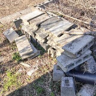 廃材 ブロック