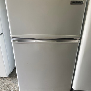 かわいい85L冷蔵庫😍