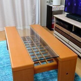 【中古】富士ファニチア リビングテーブル T2810Y