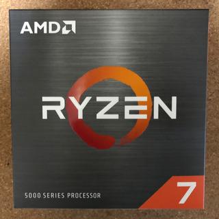 AMD RYZEN7 5800X 新品未開封 保証書あり
