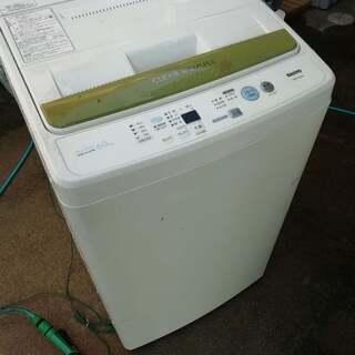 洗濯機、サンヨー 6キロ
