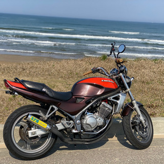 カワサキ バリオス Ⅰ型 250 バイク 実働  ZII 火の玉カラー