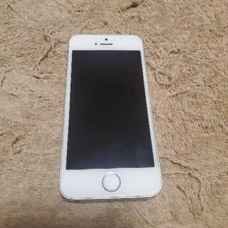 決まりました。iPhone SE Silver 64 GB SI...