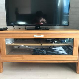 テレビボード お譲りします。状態良好。無料!