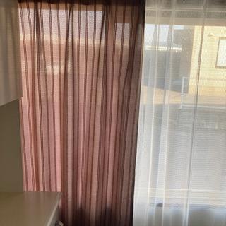 汚れなし、綺麗なカーテン2種類! 早い者勝ち 本日のみ