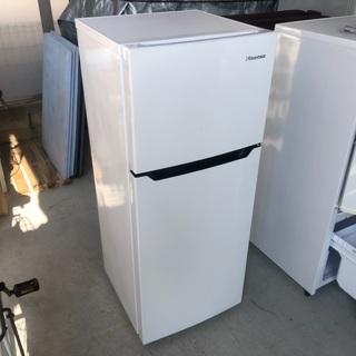 2018年製 ハイセンス冷凍冷蔵庫「HR-B1201」120L