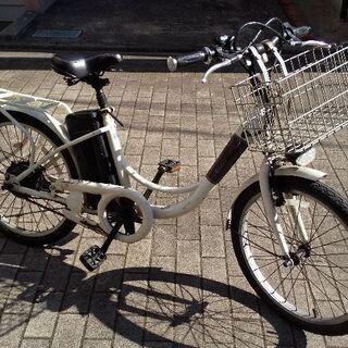 キズだらけですがまだ使える22型電動アシスト自転車