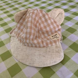 赤ちゃん用くまさん帽子