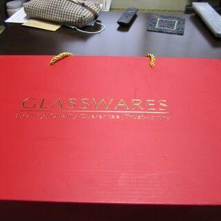 ☆彡 GLASSWARES ワイングラス6個セット ☆彡 未使用品