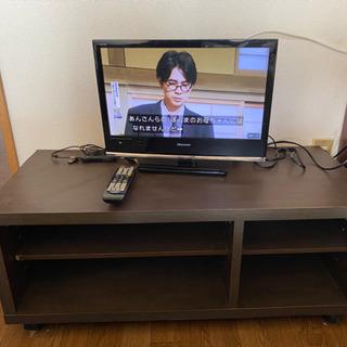 ハイセンステレビ 19インチ B-Cas カード付き テレビ台付...