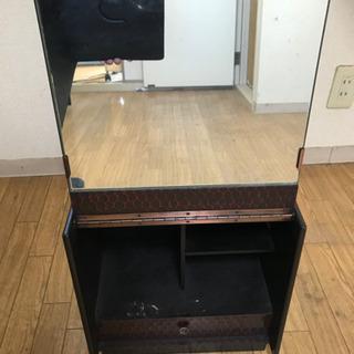 鏡台 小型収納家具 化粧箱 - 市原市