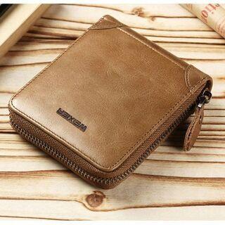 【新品】メンズ 二つ折り財布