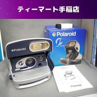 ポラロイド600カメラ インスタントカメラ 説明書付き ポラロイ...
