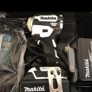 マキタ インパクト ドライバー171 白フルセット未使用
