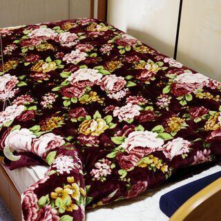 中古良品 着られるユニークな毛布(ランドリー済み・若干の毛…