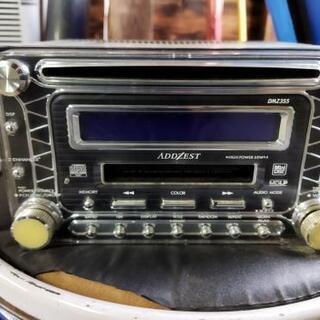 ADDZEST DMZ355 CD MD デッキ