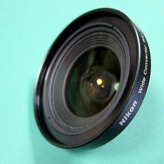 美品!Nikon 魚眼レンズ❷ WC-E63 0.63× …