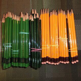 中古鉛筆128本